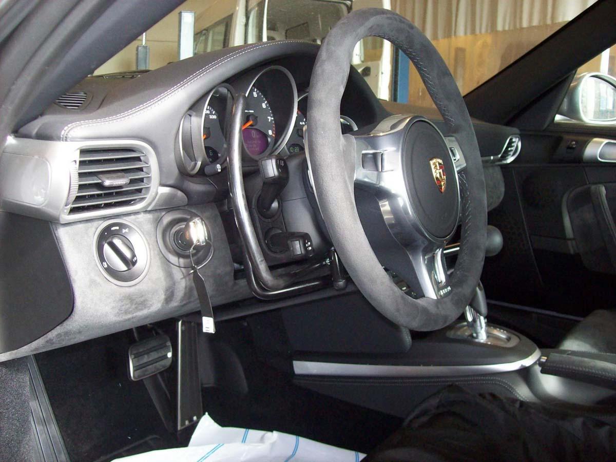 Demi-lune ACM Porsche