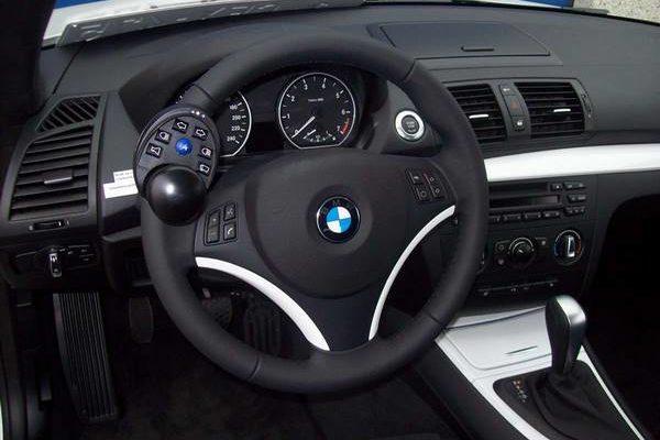 Boule au volant pour une conduite adaptée