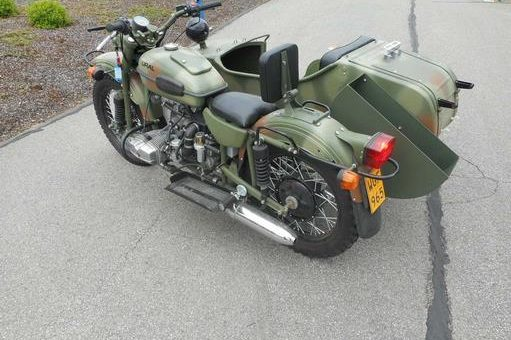 Moto adaptée pour PMR