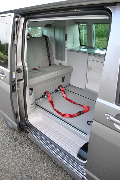 VW T6 California adaptée