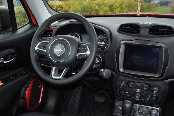 Adaptation volant Jeep
