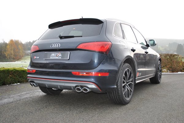 Adaptation d'une Audi SQ5