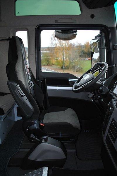 Adaptation d'un siège de camion