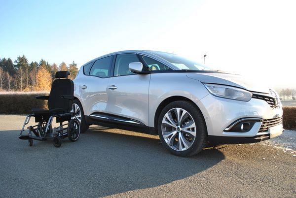 Adaptation TPMR d'un véhicule Renault Scénic