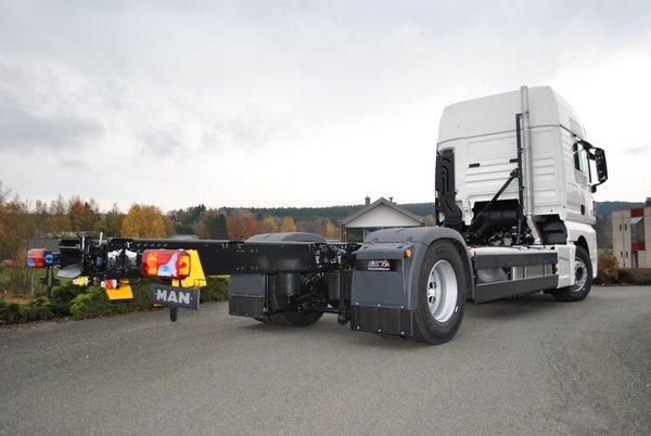 Camion Man TGX adapté