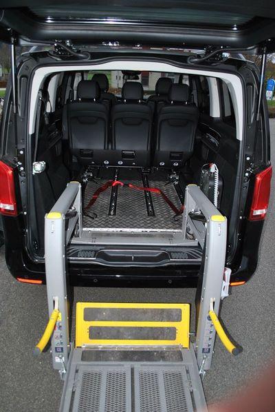 Mercedes-Benz adaptée pour TPMR