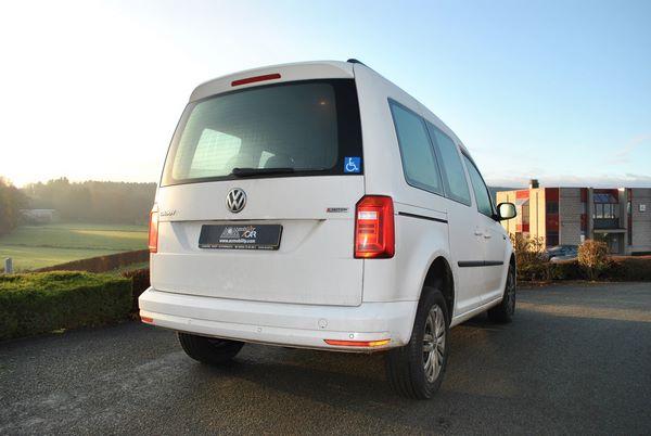 Adaptation d'un VW Caddy