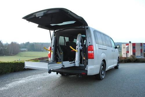 Adaptation d'un véhicule Toyota pour le TPMR