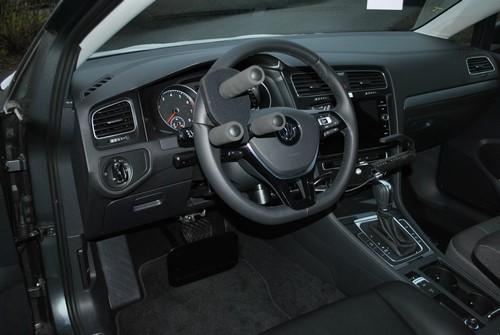Adaptation du volant pour une VW Golf