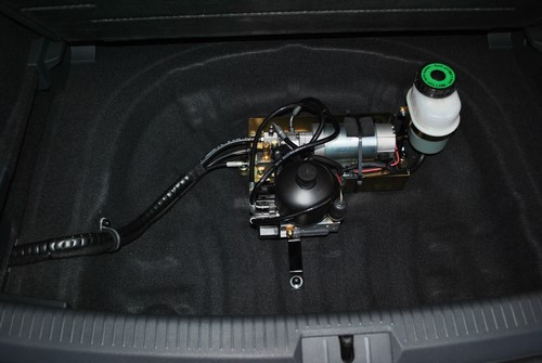 Assistance freinage pour un VW adaptée