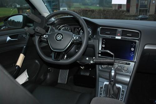 Intérieur adapté d'une VW Golf