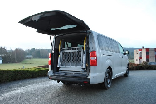 Véhicule TPMR Toyota ProAce L3