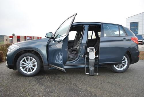 BMW X1 adaptée