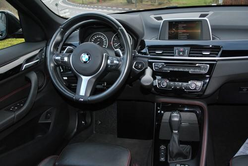 Intérieur BMW X1 adapté