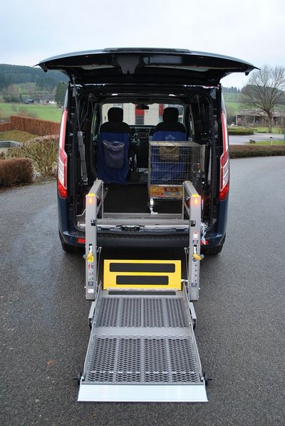 Lift arrière pour faciliter l'accès au véhicule