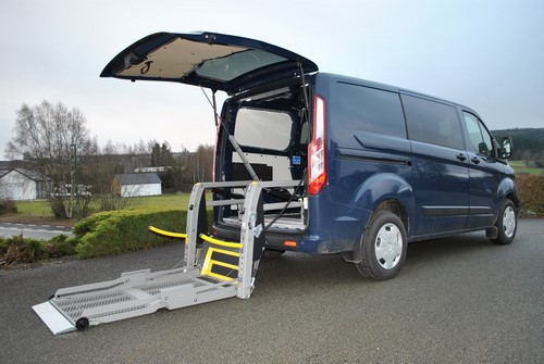 Lift pour une Ford Transit Custom