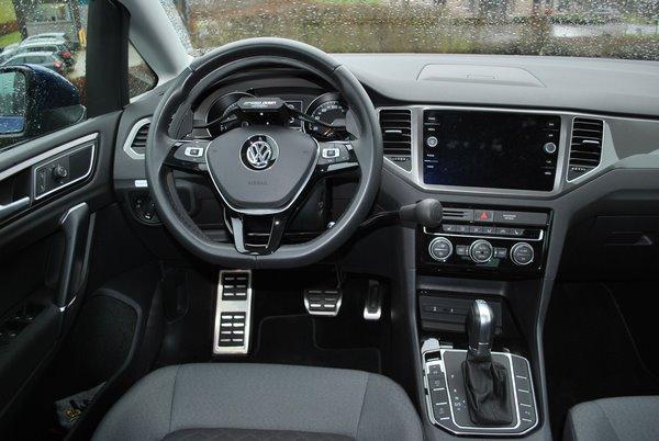 Adaptation d'un véhicule VW Sportsvan