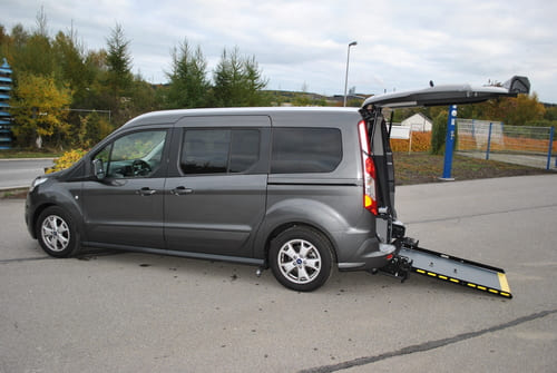 Décaissement ford tourneo Grand Connect