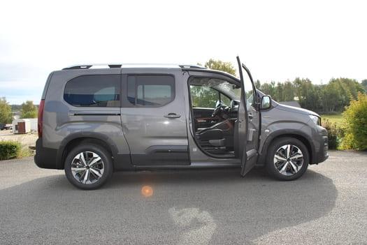 Adaptation d'un véhicule Peugeot Rifter XL