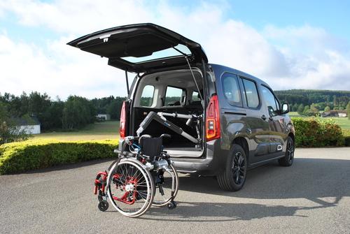 Chargement fauteuil roulant Autochair