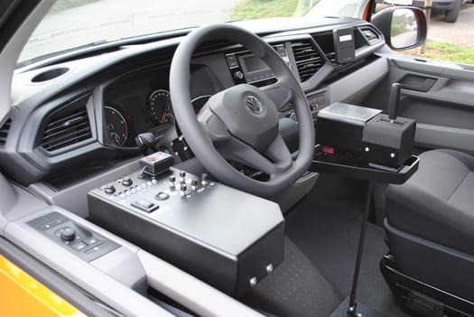 Conduite par joystick de la Volkswagen T6