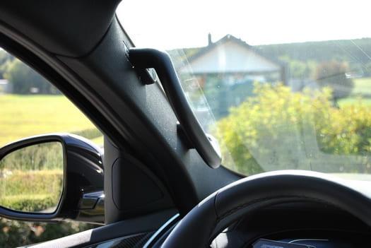 Poignée côté conducteur