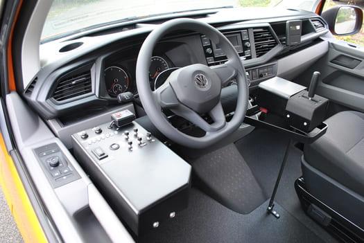 Tableau de bord sur mesure pour la VW T6