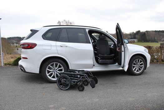 Adaptation du siège BMW X5