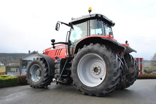 Adaptation tracteur Massey Ferguson 7719