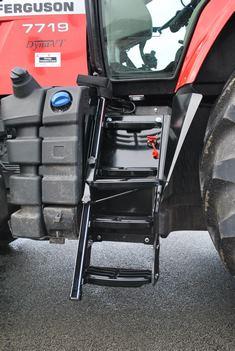 Adaptation d'un tracteur