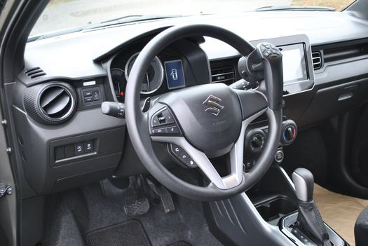 Adaptation d'un véhicule Suzuki Ignis