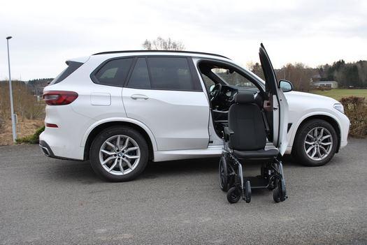 Siège pivotant BMW X5