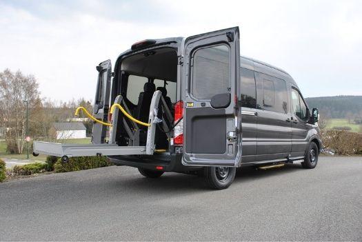 Adaptation du Ford transit - Transport collectif