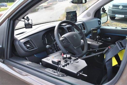 Peugeot Traveller - Commande molette