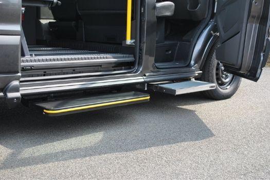 Marche-pied mécanique automatique - Ford Transit