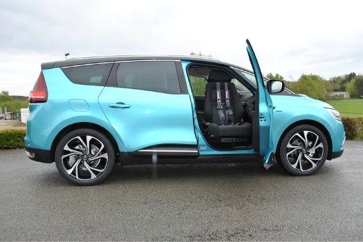 Siège ergonomique sur la Renault Grand Scenic