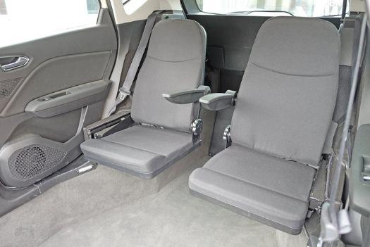 Deux sièges pliables de la Kivi Captur