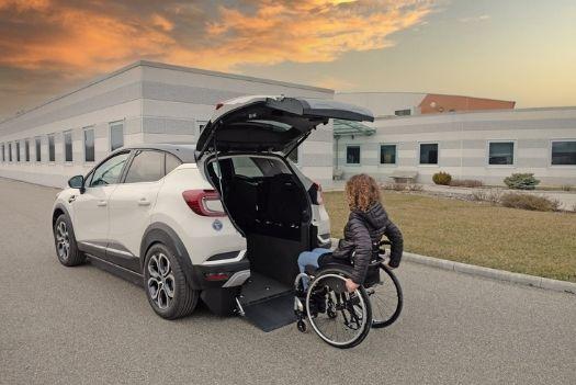 Rampe pour faciliter l'accès du fauteuil roulant - Kivi Captur