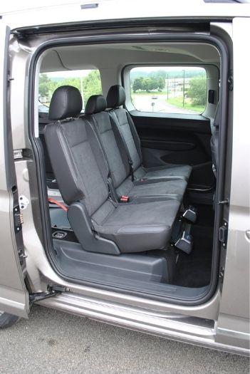 Montage inédit pour la VW Caddy Maxi 5 avec décaissement XL