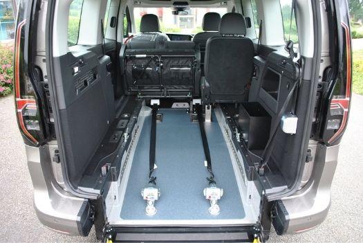 Volkswagen caddy Maxi 5 - Décaissement